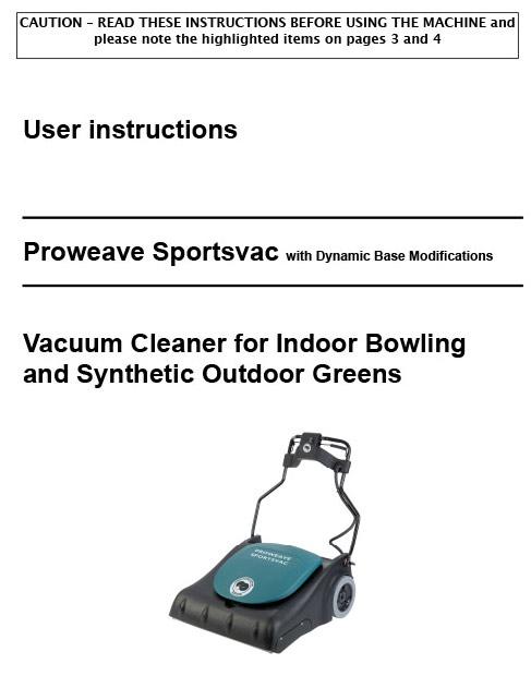 Proweave Sportsvac